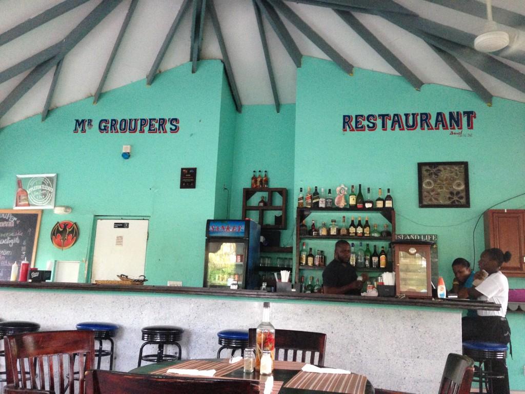 Mr. Grouper's Restaurant, Turks & Caicos