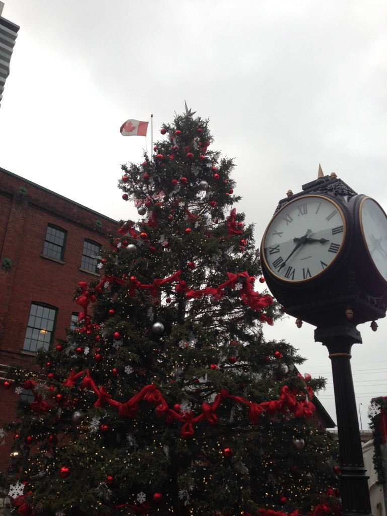 Christmas Tree at The Distillery District