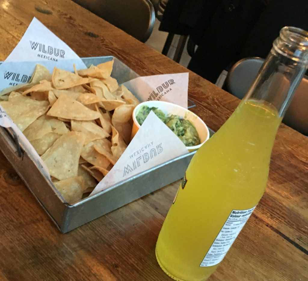 Chips & Gaucamole - Wilbur Mexicana Restaurant