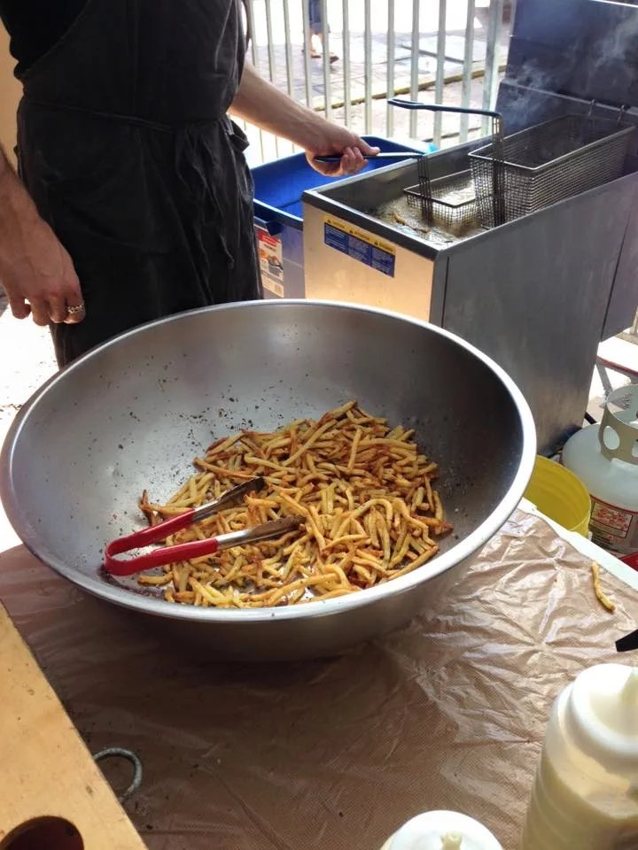 Jamie Kennedy's Fries with Garlic Aioli