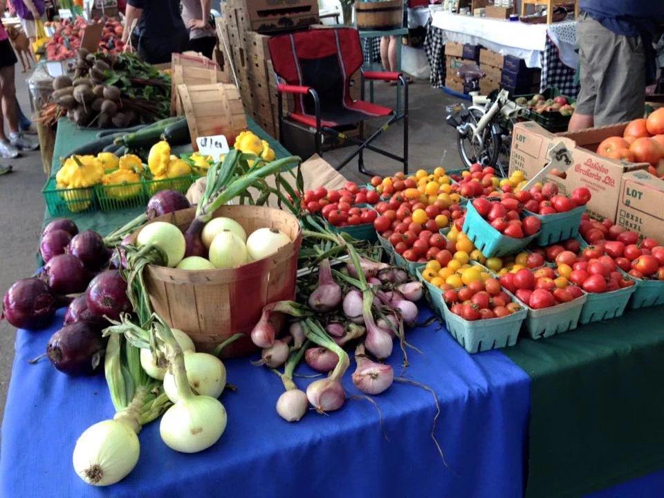 Evergreen Brick Works Farmer's Market - Vegetables