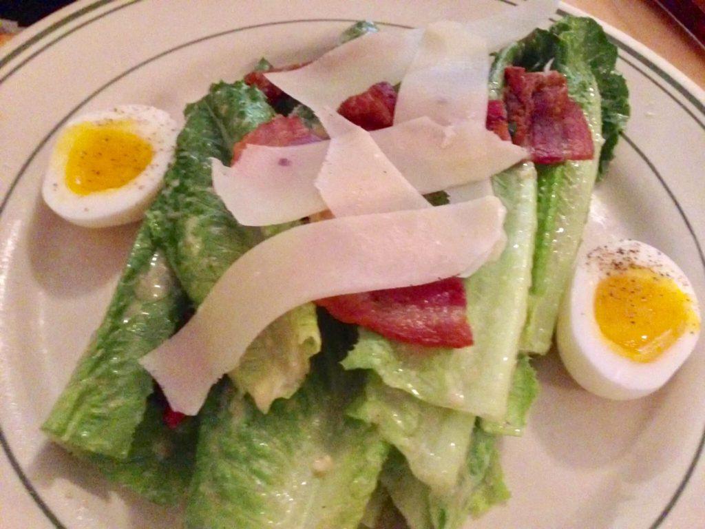 Classic Ceasar Salad at The Gabardine