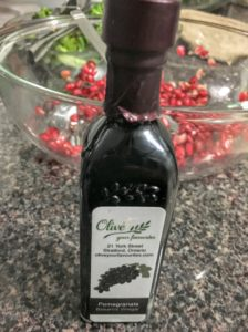 Pomegranate Balsamic Vinegar from Olive your favourite