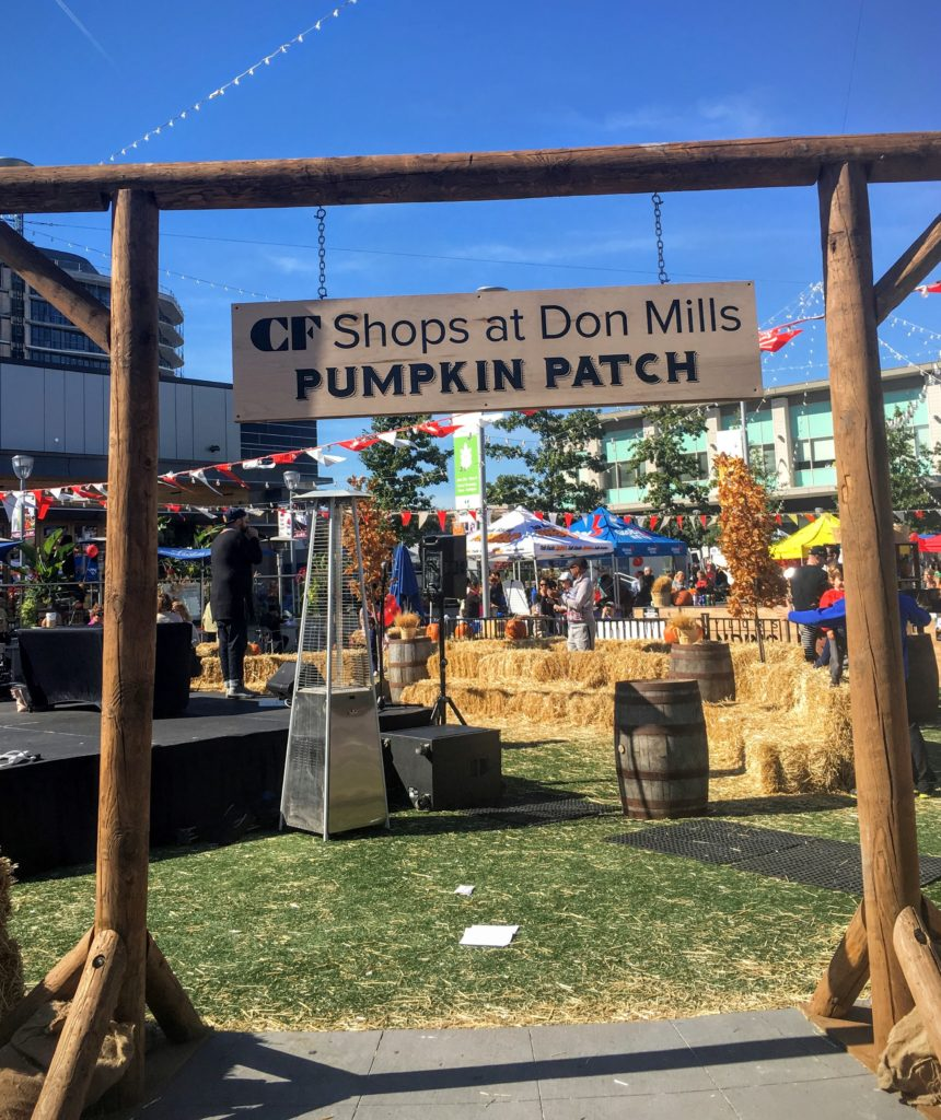 Pumpkin Patch at Shops at Don Mills