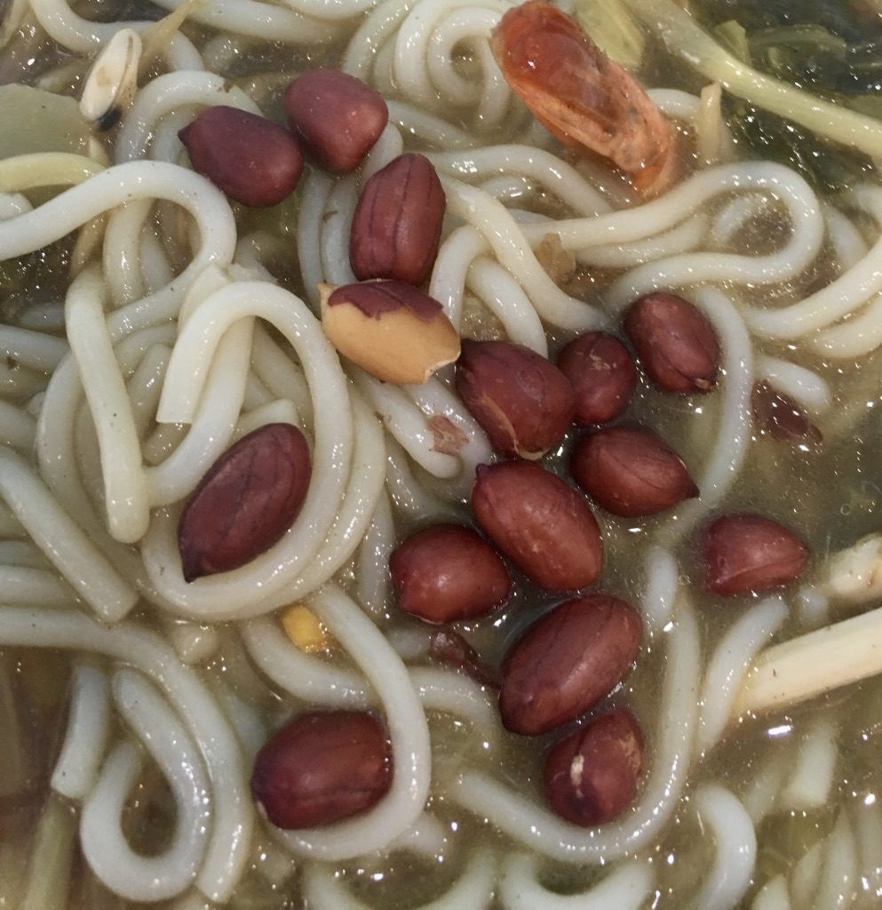 Funky Spicy with roasted peanuts - Sprout Hainan Noodle
