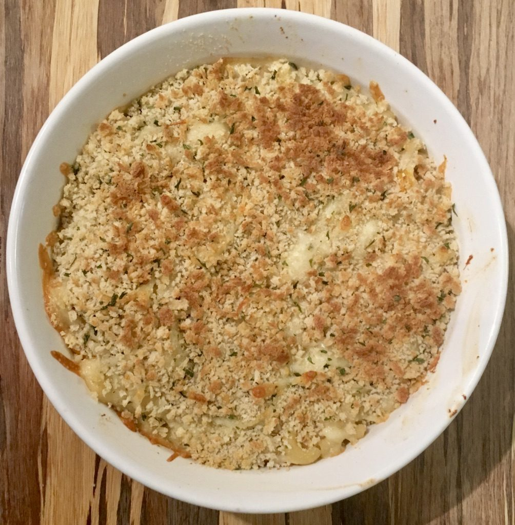 Macaroni and Cheese with Crab Meat