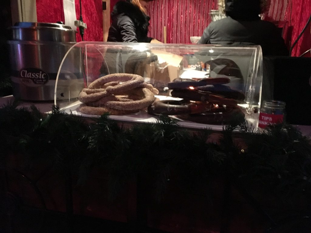 Pretzel Stand at the Toronto Christmas Market
