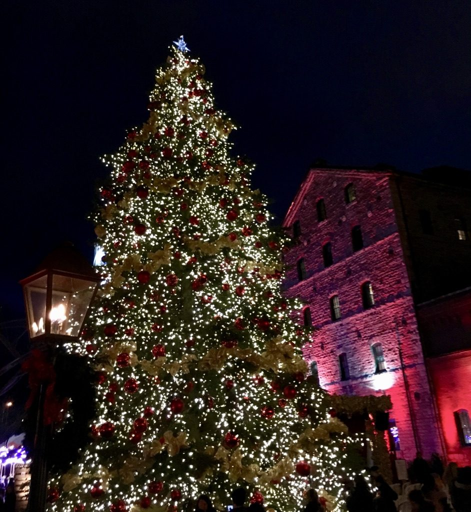 The Toronto Christmas Market tree