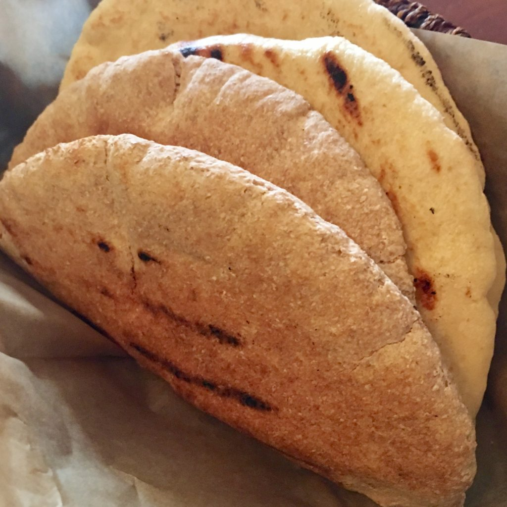 Pita (Whole Wheat and White)