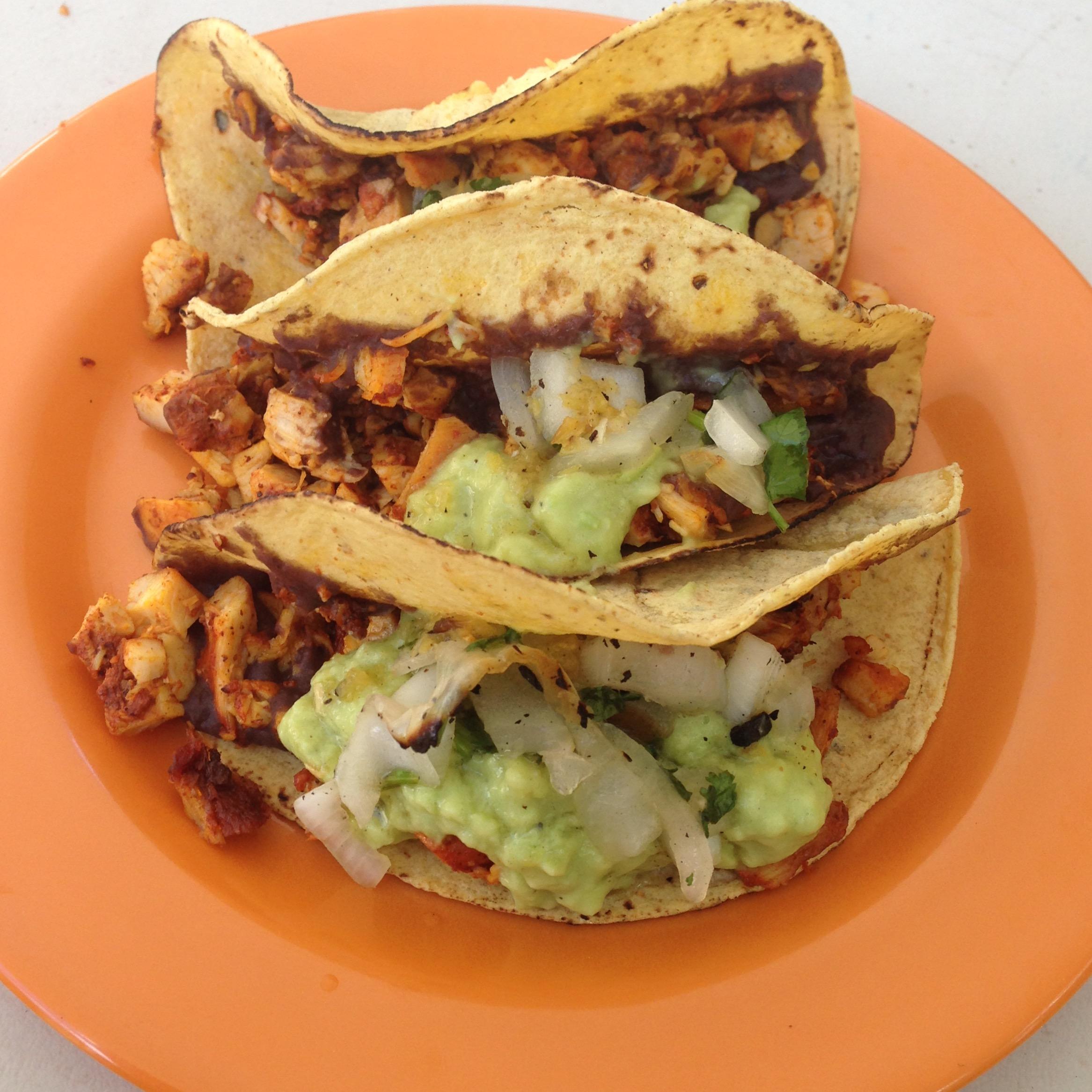Taco de pollo (Chicken Taco)