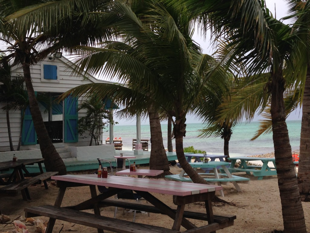 Da Conch Shack view from the patio