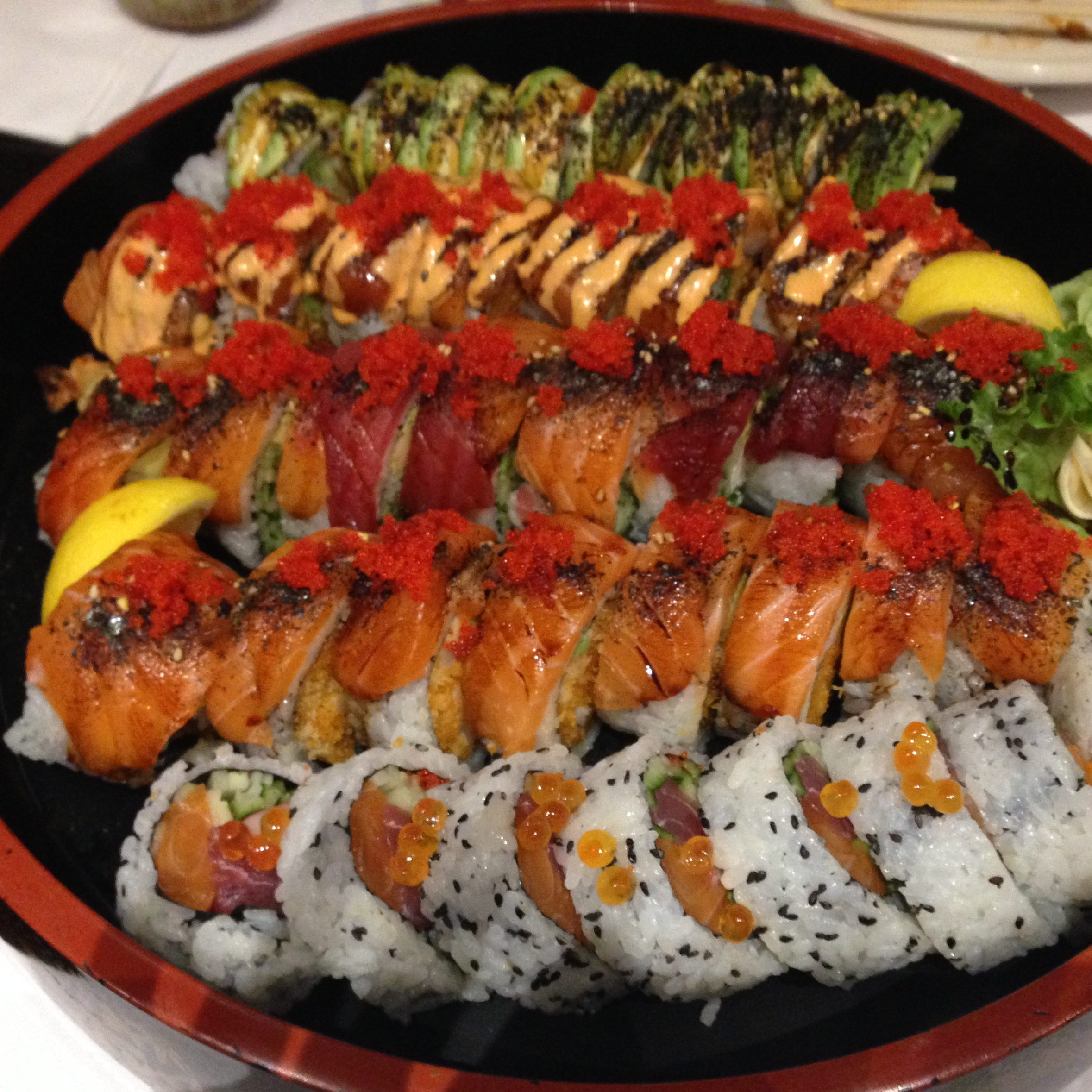 Aroowha Maki is always good to share with friends