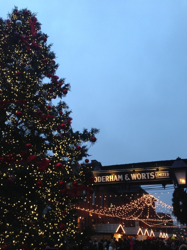 The Distillery District Christmas Market - Christmas Tree