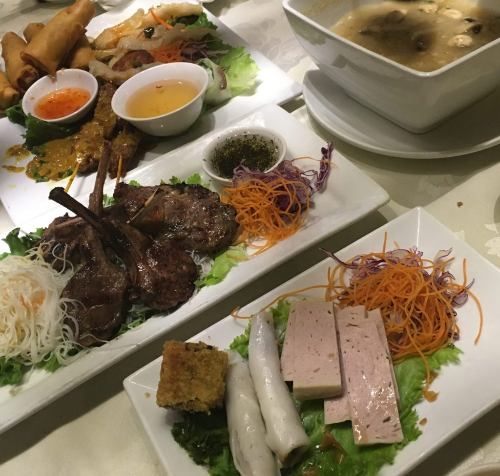 Saigon Star Restaurant Dishes
