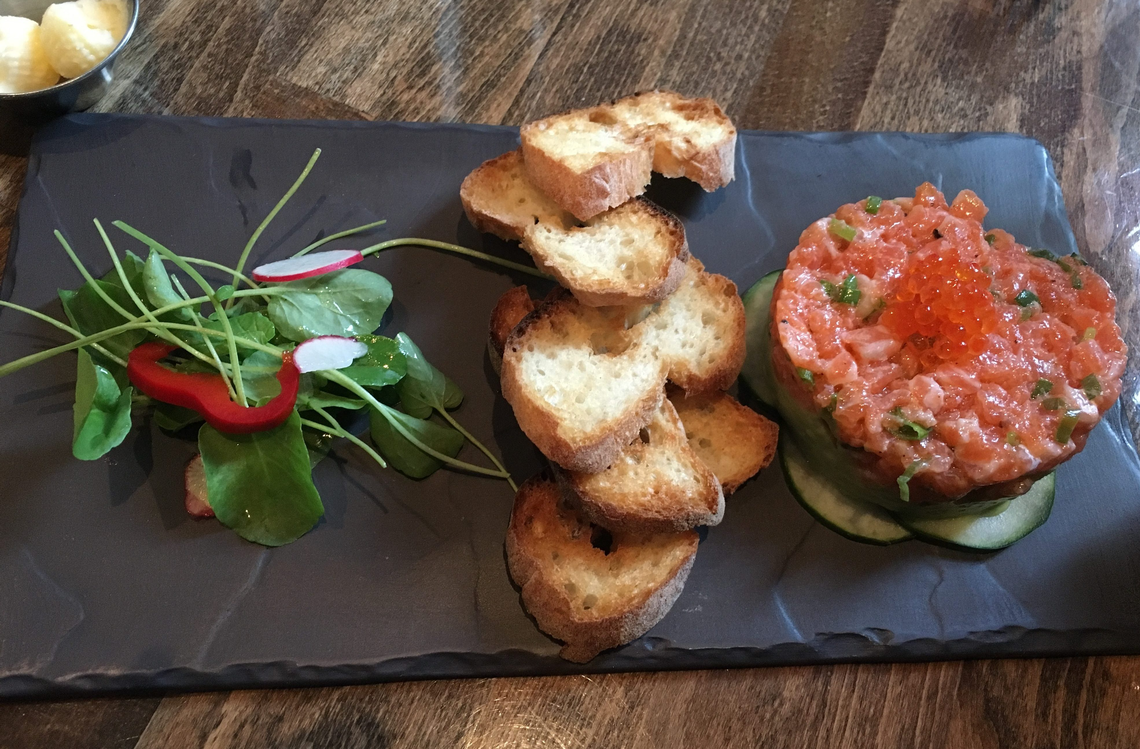 Salmon Tartare - French Bistro