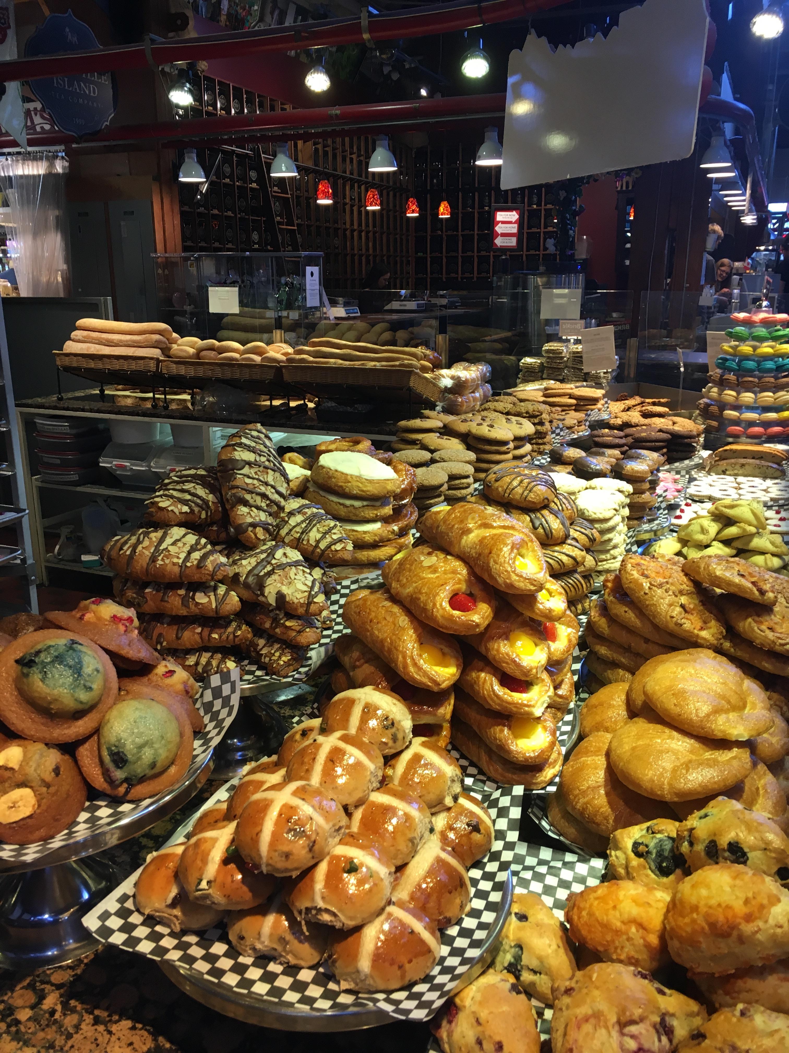 Pastries Granville Island Public Market