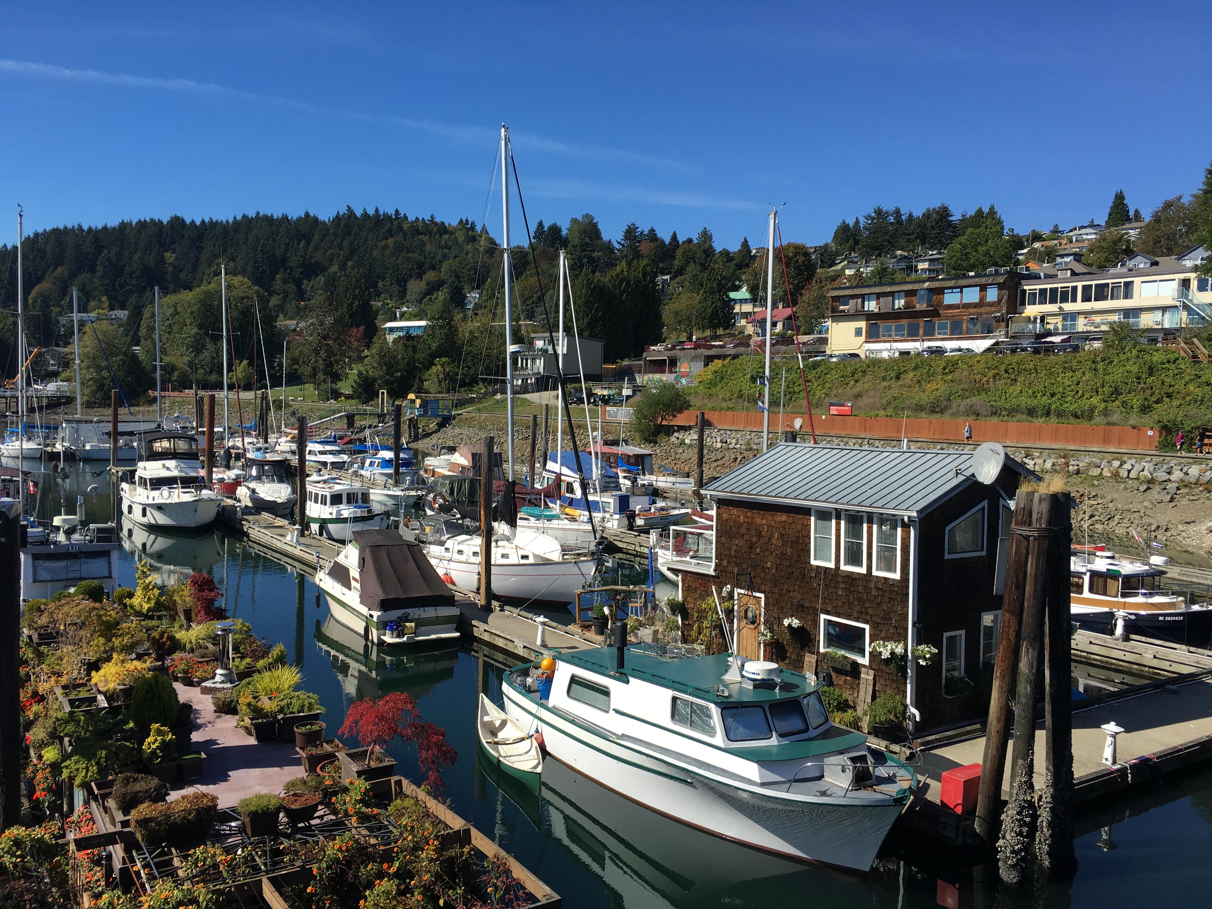 Wharf - Gibson, British Columbia