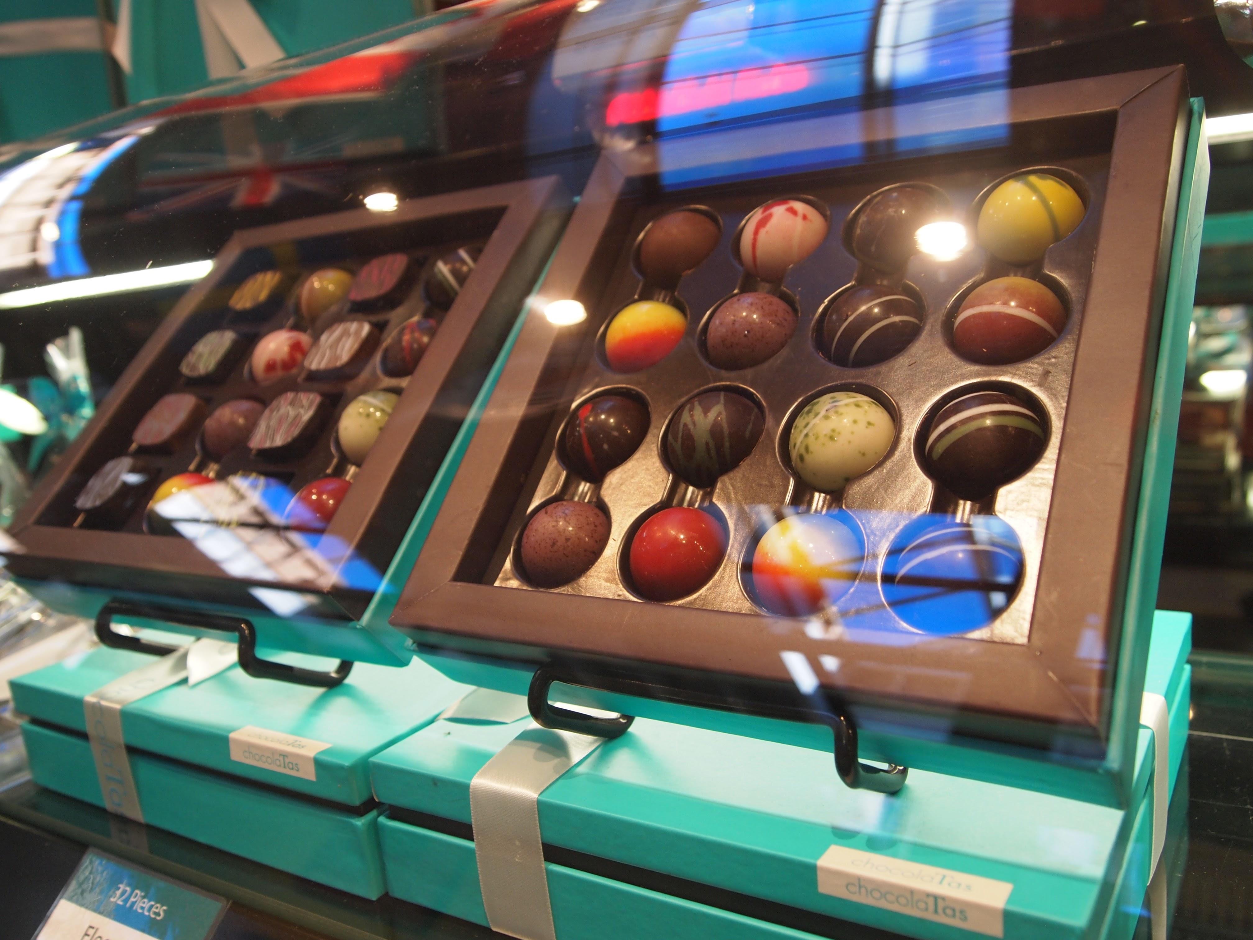 Chocolates too beautiful to eat from ChocolaTas