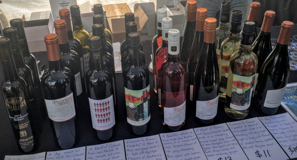 Local Ontario Wines