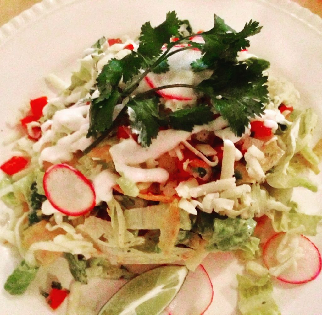 Taco Salad at The Gabardine