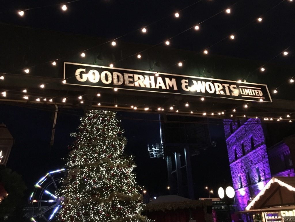 Toronto Christmas Market at The Distillery Historic District