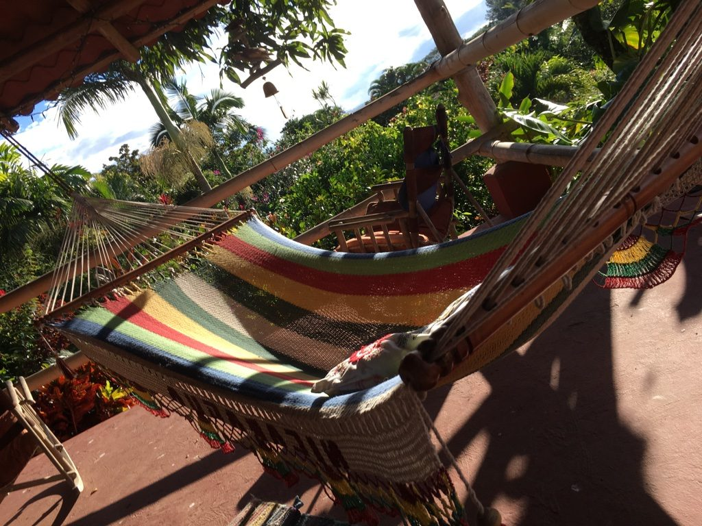 Relaxing Hammock and Rocking Chair - Eden Atenas