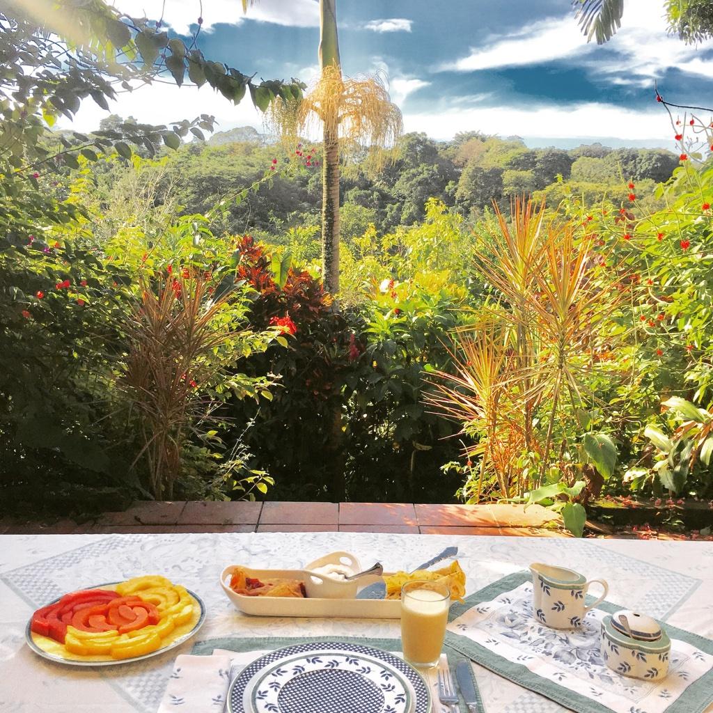 Eden Atenas Breakfast View