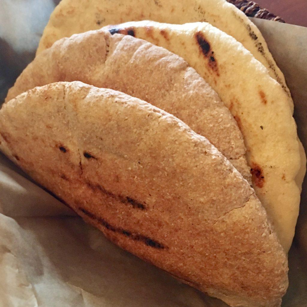 Pita (Whole Wheat and White)