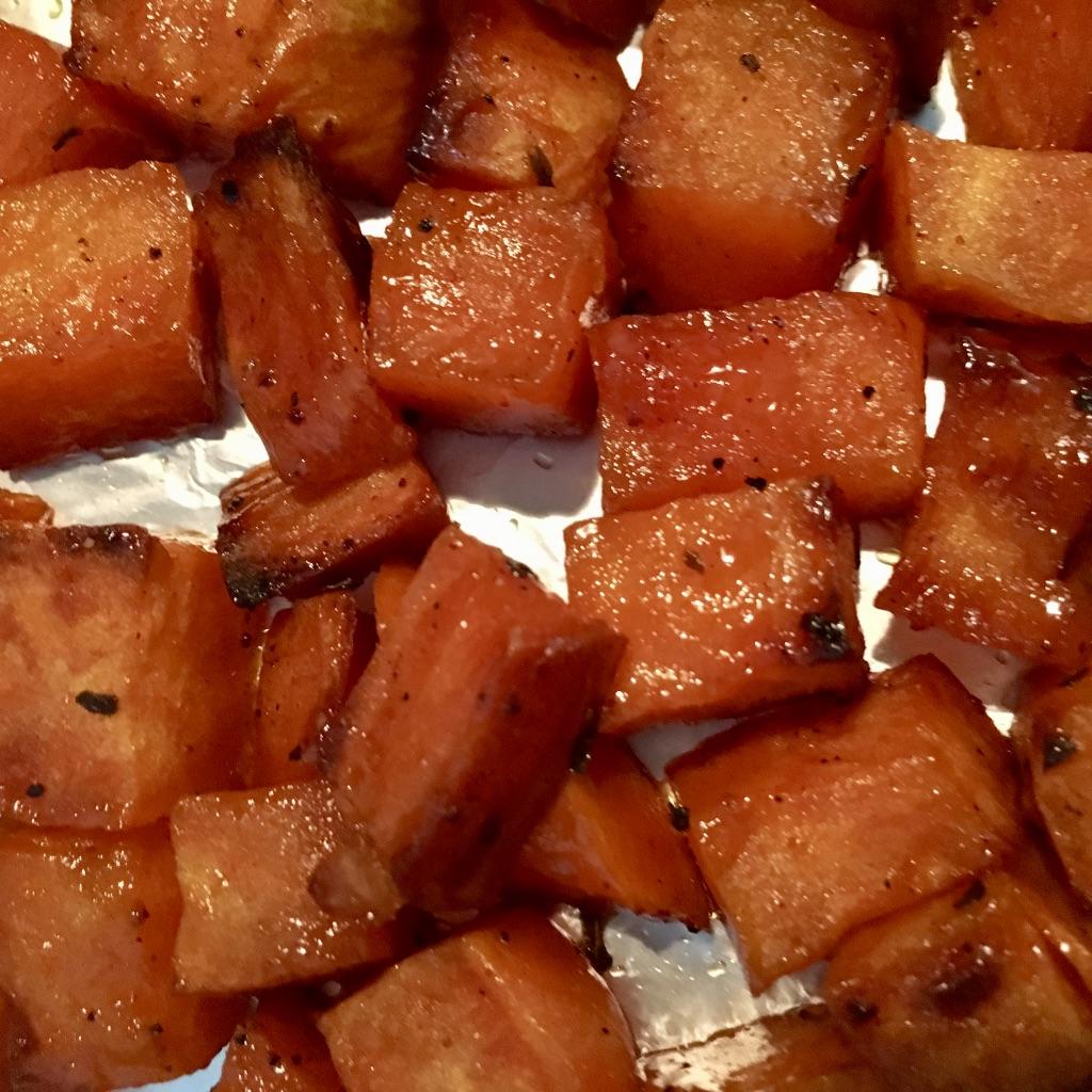 Baking Sweet Potato Bites