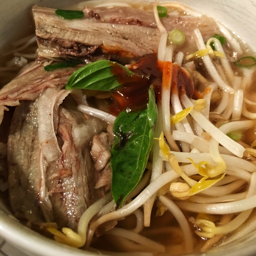 Flank and Brisket Pho
